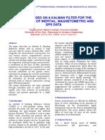 Kalman Filter Magnetometric and GPS