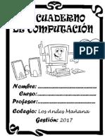Cuaderno Computacion prim