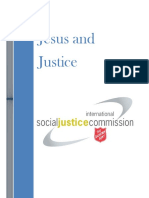 Jesus and Justice-The Salvation Army International Social Justice Commission 2011