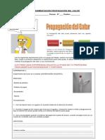 Guía Experimentación Propagación Del Calor