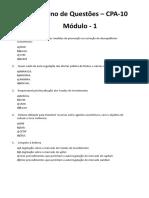 Caderno de Questões_Cpa10