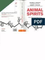 Akerlof Shiller Animal Spirits Economía
