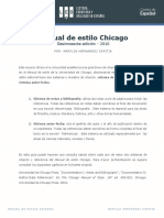 Citación Chicago