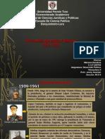 De la transición Democrática Al Militarismo