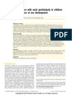 Ethical Issues With Early Genitoplasty in Children With Disorders of Sex Development