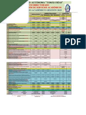 Calendario Academico 2020 16.Calendario Academico 2019 A3 Aprobado En Ca 2 Crecimiento Personal