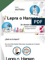 Dr Kerwin Salazar ....Lepra.