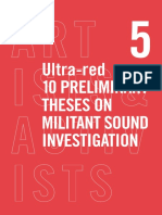 Session3 Ultra Red-10 Preliminary Theses Militant Sound