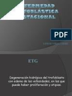 ENFERMEDAD TROFOBLÁSTICA GESTACIONAL - expo