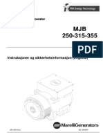 Generator Marelli 355 - Manual