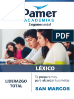 lexico pamer unmsm