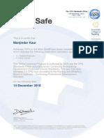 med calcs custom assessment 9 certificate 4