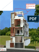9645Double Storey Elevation With Stilt Parking L