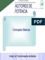 CAPACITORES DE POTENCIA. - Conceptos Básicos.pdf