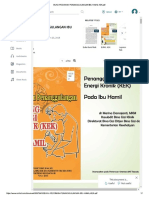 Cover Page of Managing CED Among Pregnant Women by Id MoH