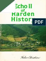Echo II of Rarden History