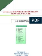 Niveles de Prevencion de La Salud