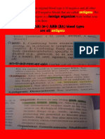 (A) (B) (AB) (0+) AND (Rh) blood types are all antigens