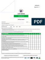 COT Agreement Form