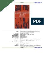 Bodéüs, The Political Dimensions of Aristotle's Ethics, SUNYP 1993