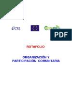 Rotafolio Sobre Organizacion y Participacion Com Unit Aria