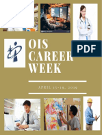 OIS Career Week April 15-19, 2019