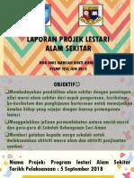 Laporan Projek Lestari Alam Sekitar