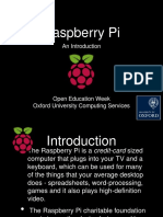 Raspberry Pie an Introduction 2
