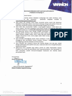 Surat Penyataan Kebijakan Anti Suap Dan Anti Korupsi