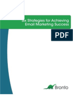 Email Success Strategies