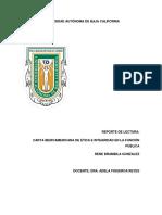 Carta Iberoamericana de la Función Publica