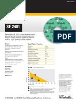 Compressed Fiber SF 2401 Data Sheet 03-16-2018 (1)