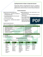 Corporate Account Application Form
