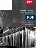 Birtley Compressed Lintels Brochure