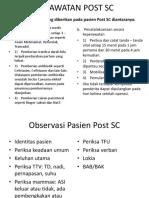 Perawatan Post Sc
