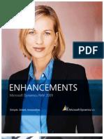 NAV 2009 Enhancements Brochure