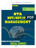 Ugc Net Management June 2019