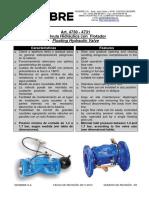 Genebre float valve