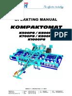 manual utilizare K600