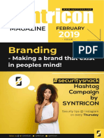Branding Strategies - Syntricon Issue FEB 2019