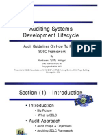 Auditing SDLC(NT20071212)