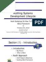 Auditing SDLC(NT20071212)