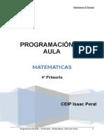 programacion aula matematicas 4º.doc