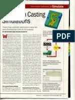 Aluminum Casting Simulations