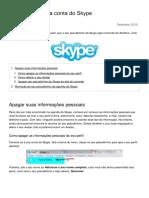 Como Excluir Uma Conta Do Skype