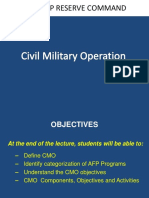 PPT Civil Military Operation