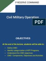 PPT Civil Military Operation