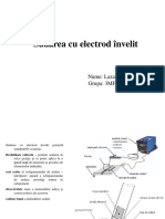 Sudura Cu Electrod Invelit