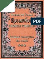 Ponson Du Terrail Rocambole 2  Dramele Parisului Clubul Valetilor de Cupa 2