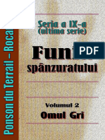 Ponson Du Terrail Rocambole 9 Funia Spanzuratului 2 Omul Gri